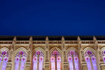 Suzzallo Library at Night