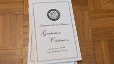2016 Graduation program