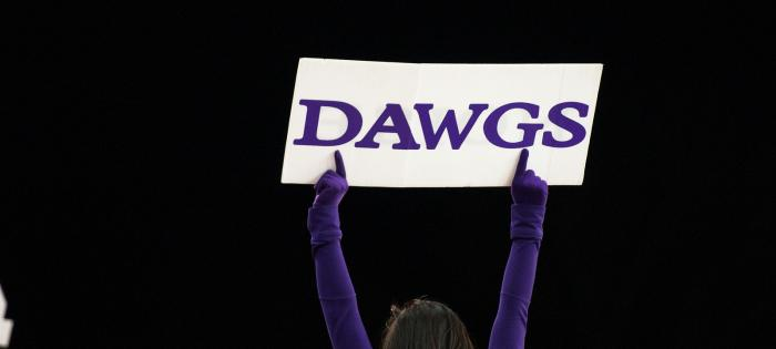 Dawgs sign
